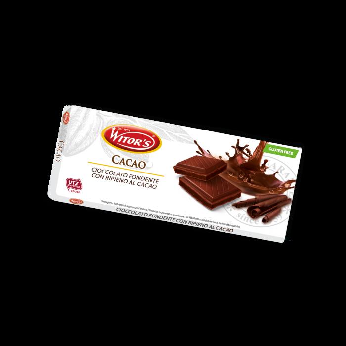 Tavoletta ripiena al cacao