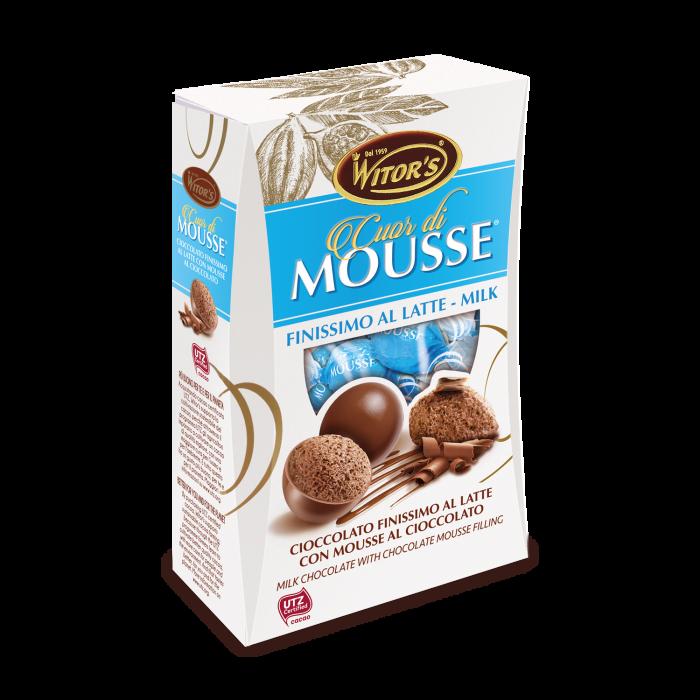 Cuor di Mousse Latte