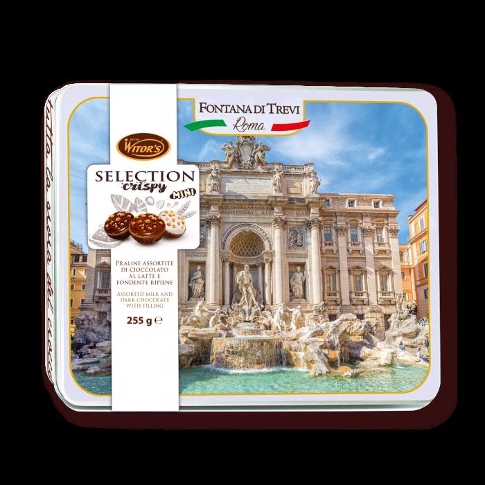 Selection Crispy MINI Mix – Confezione in latta Fontana di Trevi