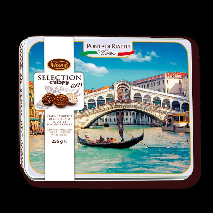 Selection Crispy MINI Mix – Confezione in latta Ponte di Rialto